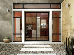 glossy finish aluminium windows and doors, which is available for reference in the manufacturing site of aluminium windows and doors in Sydney.