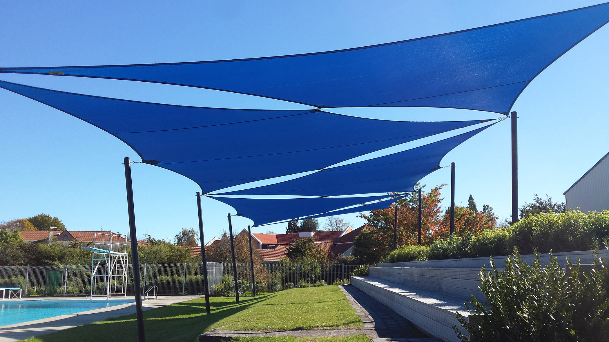 Why You Need Customized And Waterproof Shade Sails?